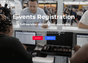 E-vents Registration, WPTallahassee, Tallahassee Web Design